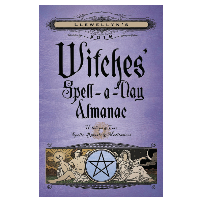 Llewellyn's 2019 Witches' Spell-a-Day Almanac - Hello Violet