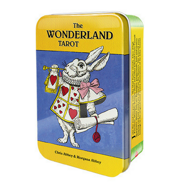The Wonderland Tarot in a Tin - Hello Violet