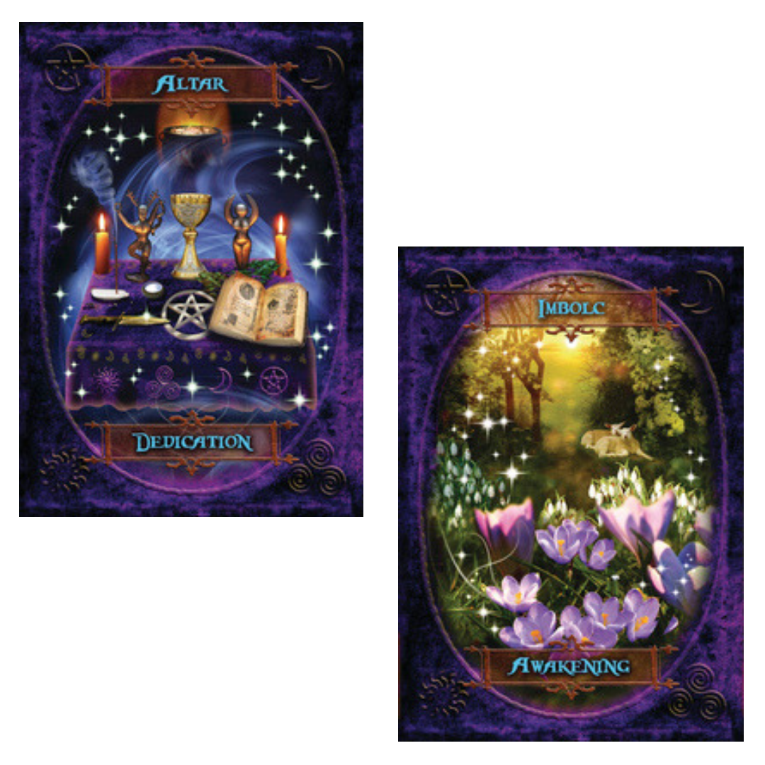 Witches' Wisdom Oracle Cards - Hello Violet