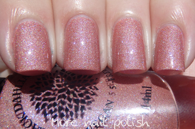 Black Dahlia Nail Lacquer - Capital Rose Garden - Hello Violet