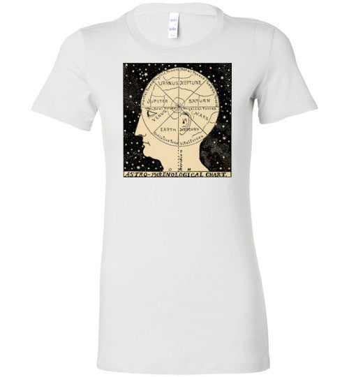 Astro-Phrenological Chart T-Shirt - Hello Violet