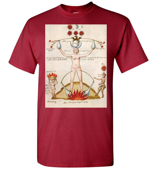 Three And One Hermetic Men's T-Shirt