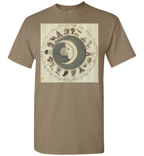 Esoteric Moon Emblem Men's T-Shirt