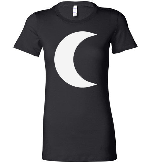 Witchy Crescent Moon T-Shirt - Hello Violet