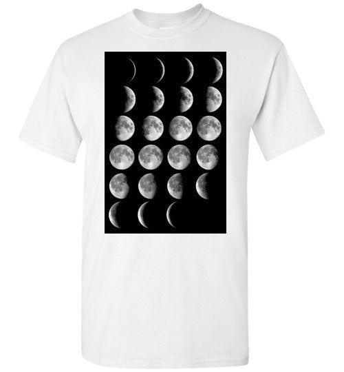 Phases Of The Moon Men's T-Shirt - Hello Violet