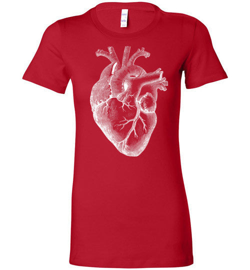 Anatomical Heart T-Shirt - Hello Violet