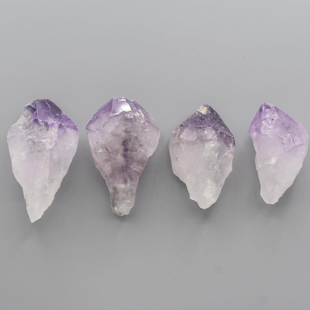 Large Raw Amethyst Crystal Point - Hello Violet