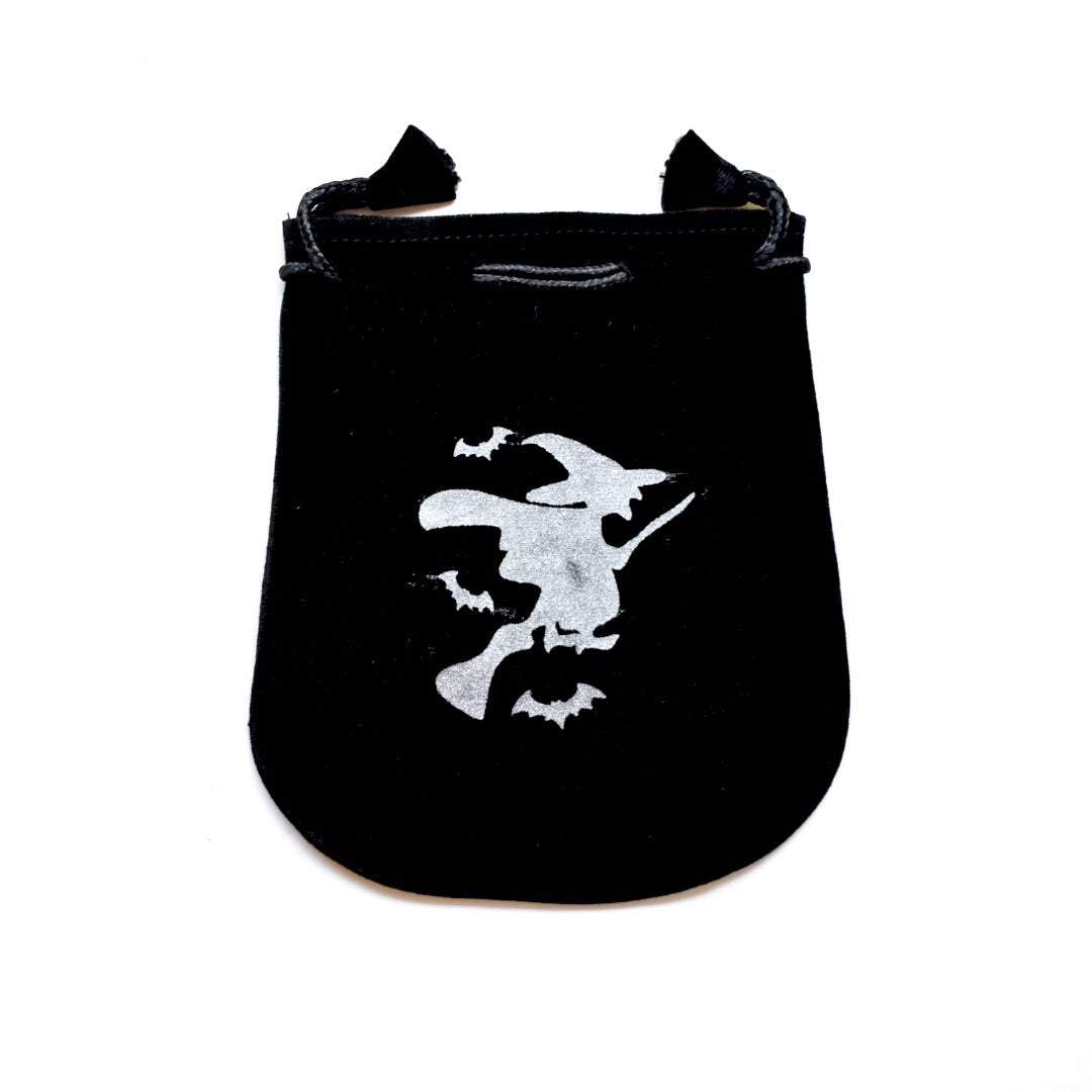 Witch Velveteen Pouch