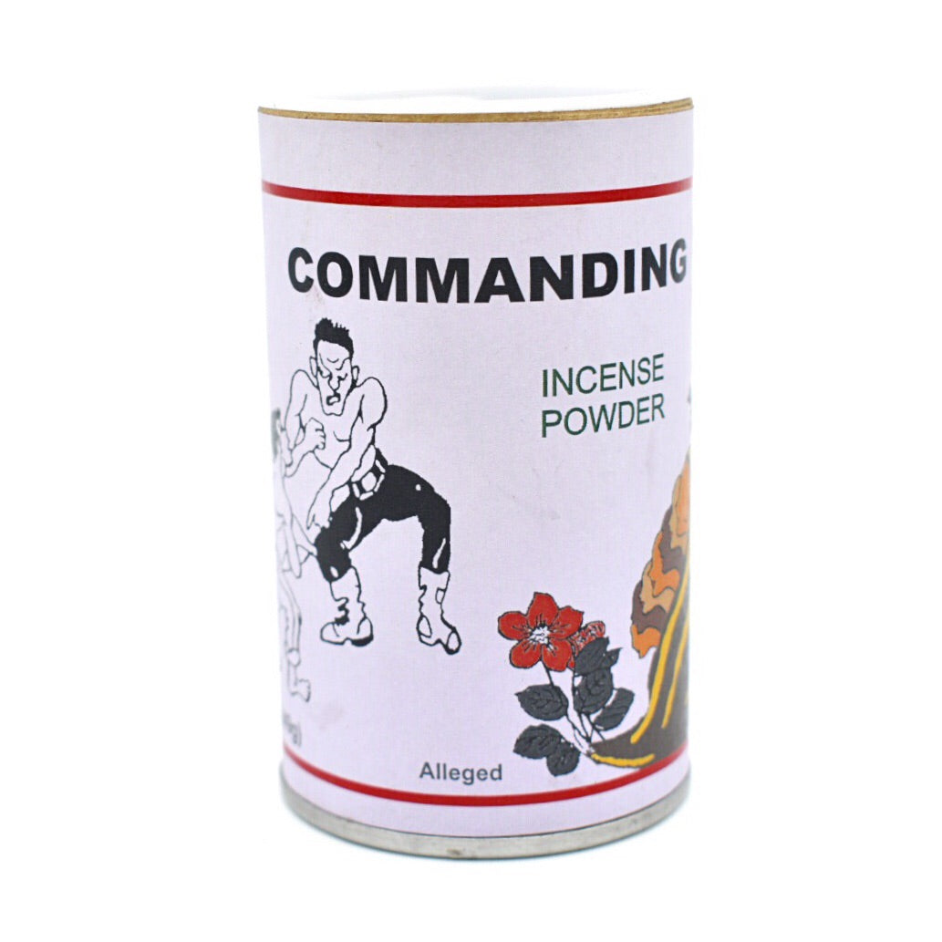 Commanding Incense Powder - Hello Violet