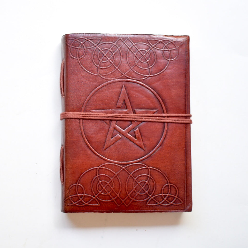 Pentacle Leather Journal