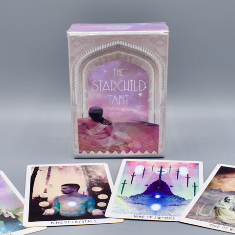 As-Is Dented Box - The Starchild Tarot - 1st Edition Rose Portal Box