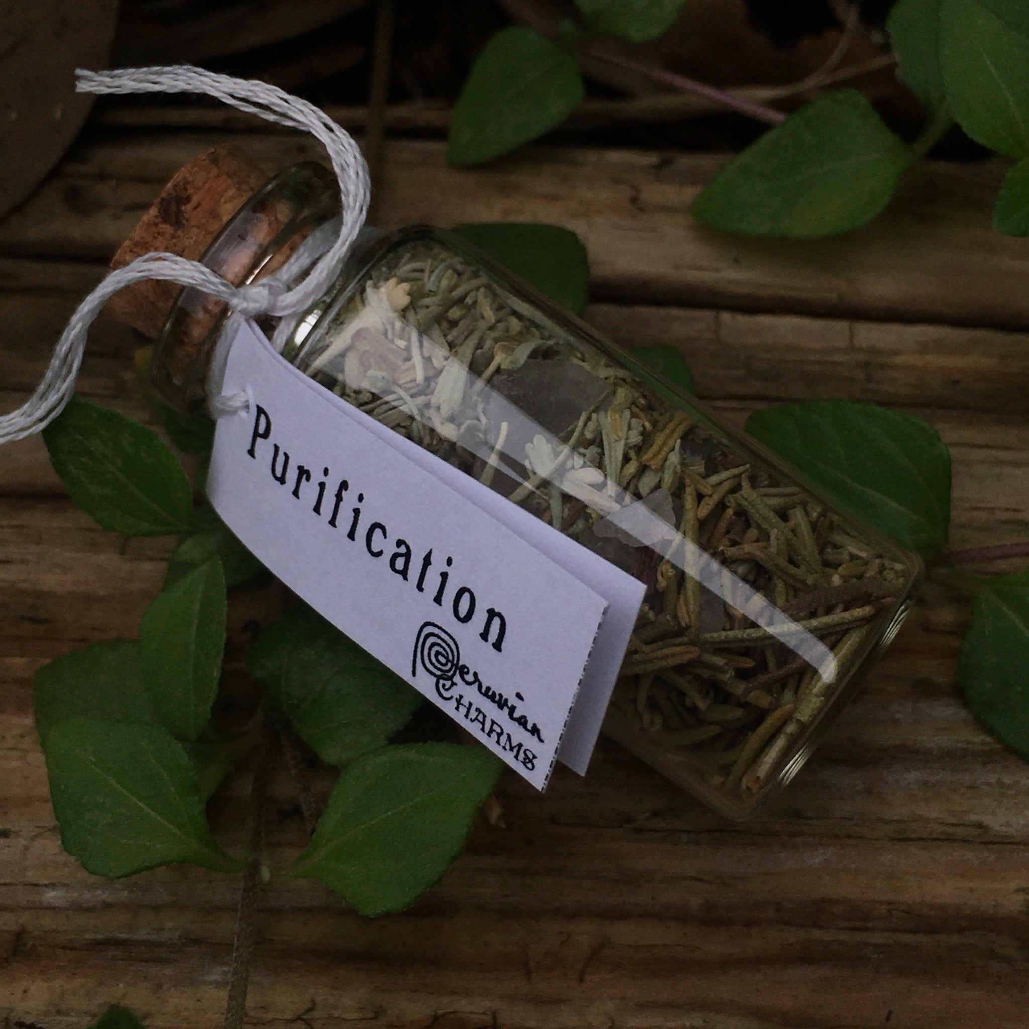 Mini Spell Bottle: Purification