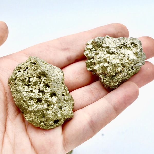 Chunky Pyrite Fool's Gold Nugget