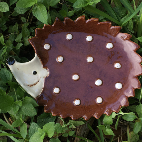 Hadley Hedgehog Ceramic Plate