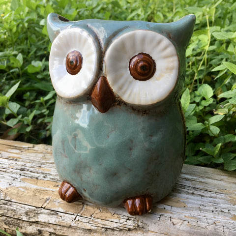 Amelie Owl Ceramic Planter