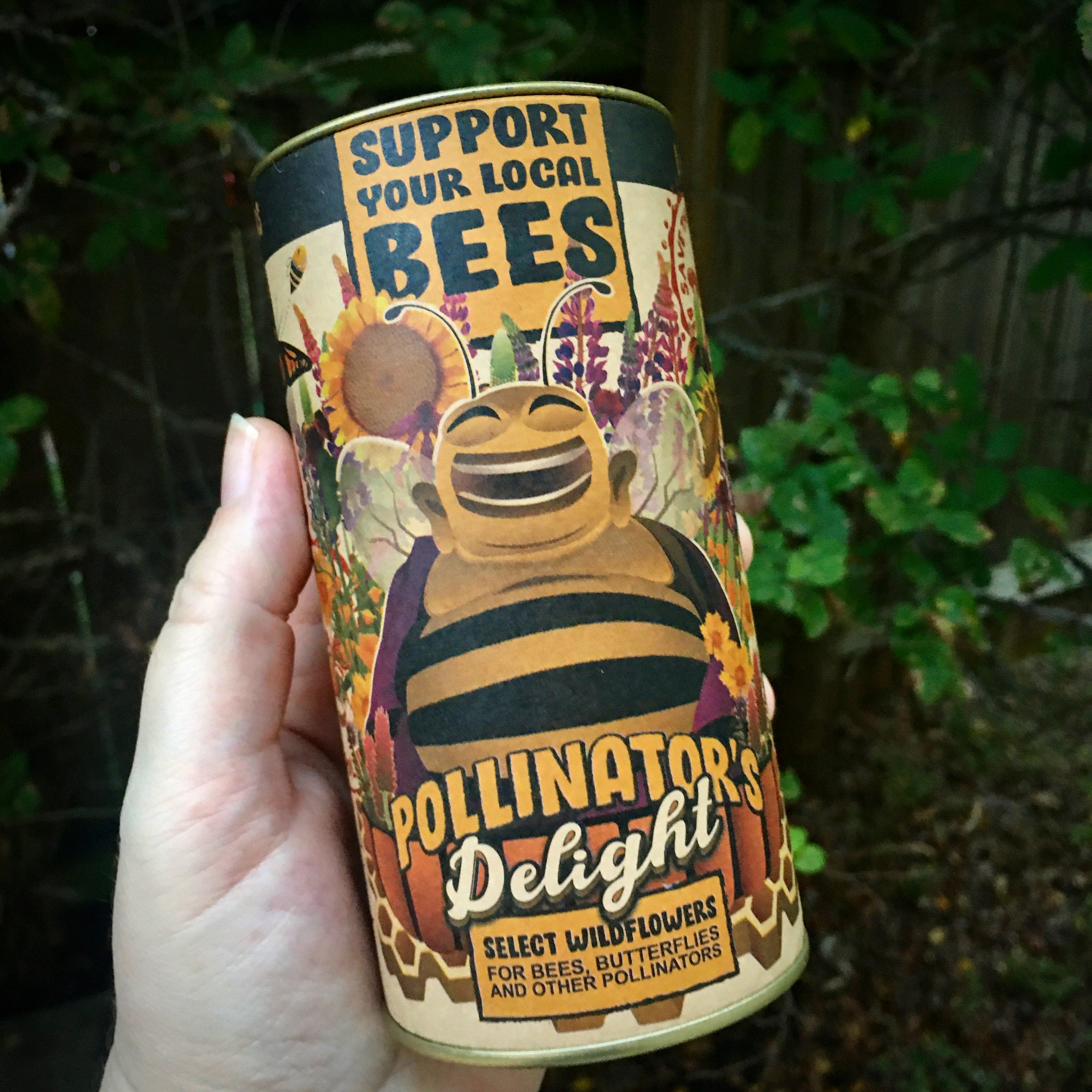 Pollinator's Delight | Flower Seed Grow Kit