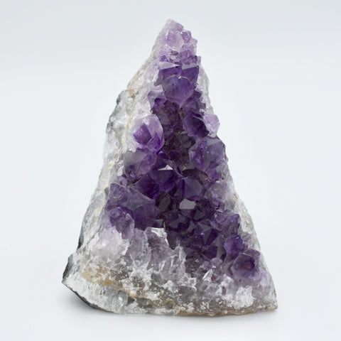 Amethyst Triangle Geode Cluster - Hello Violet