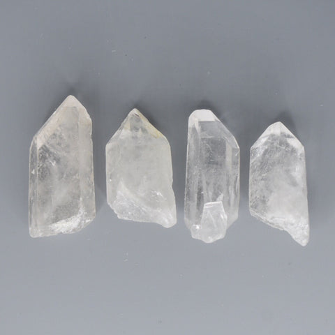 Chunky Quartz Crystal Top Grade Raw Point - Hello Violet