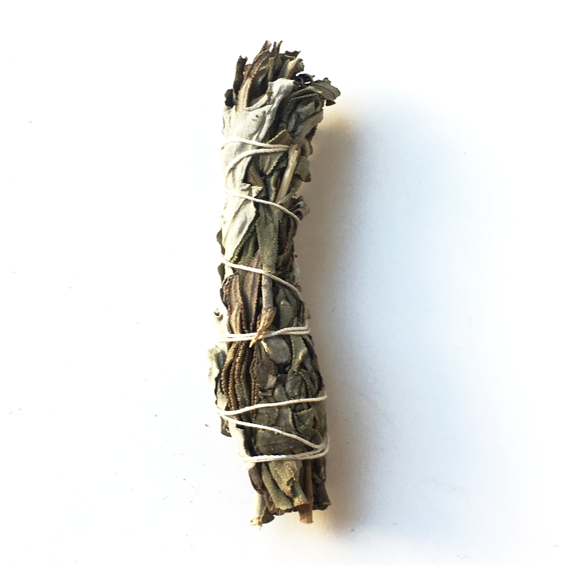 "California White Sage and Lavender Smudge Stick 3""-4"" - Hello Violet"
