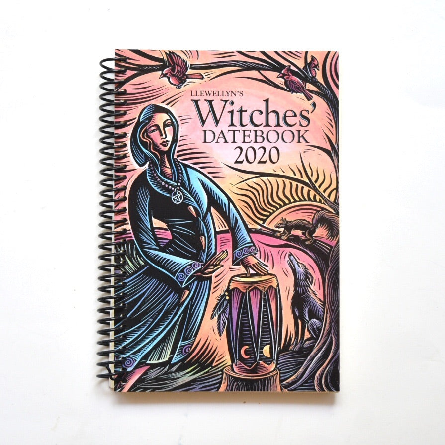 Llewellyn's 2020 Witches' Datebook - Hello Violet
