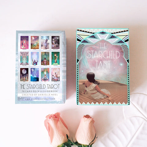 The Starchild Tarot - 1st Edition Turquoise Box