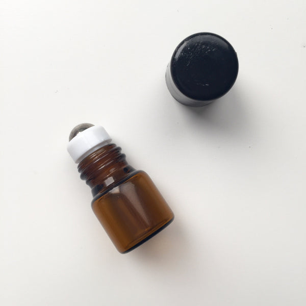 Mini Roller Bottle - Essential Oil SAMPLES with Roller Balls: Chill Out, Bye Felicia, Be Happy