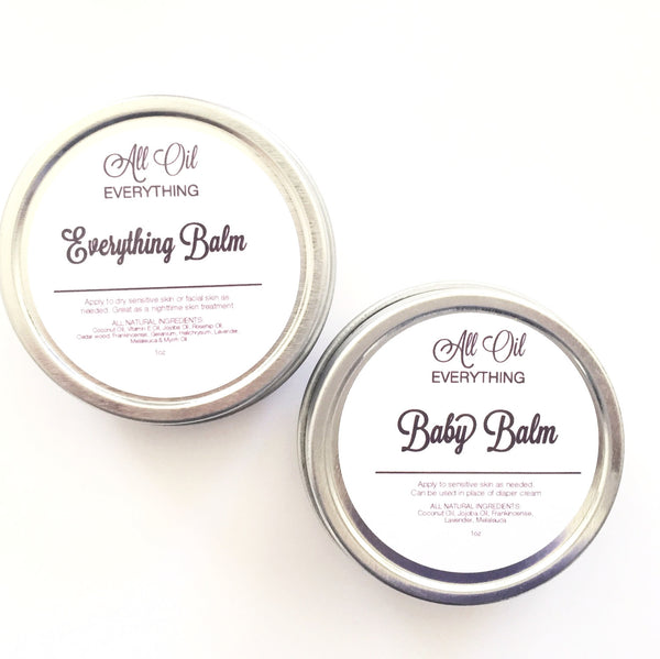 Everything Balm- Essential Oil Soothing Salve - Organic & Vegan Nourishing Lotion for All Natural Moisture