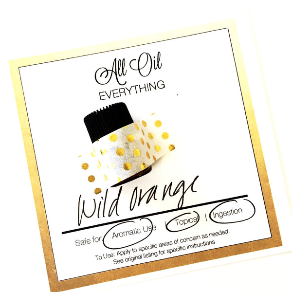 GIFT SET COLLECTION Essential Oil SINGLE Samples  - Your choice of 3 Pure Oils - 10-15 drops