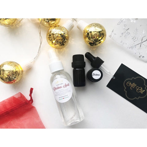Christmas Spirit Combo Diffuser Oil Blend & Spray - Tree Scent