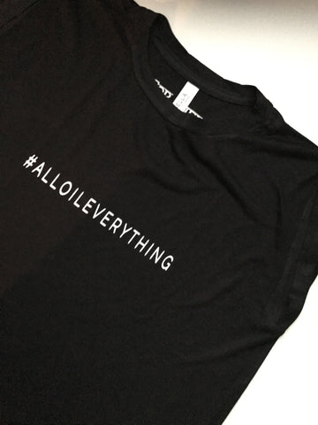$5 SALE #AllOILEVERYTHING Hashtag Shirt | Oil Shirt | Essential Oil Shirt | Essential Oil Gift