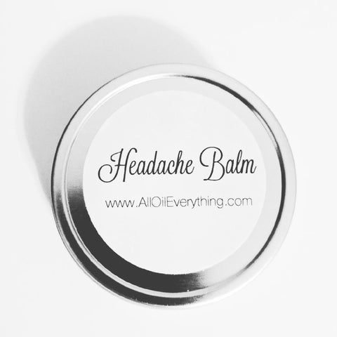 Headache Balm - Natural Headache Relief | Migraine Rub |  Natural Relief