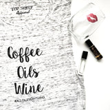 $5 SALE - COFFEE OILS WINE Oil Shirt | Essential Oil Shirt
