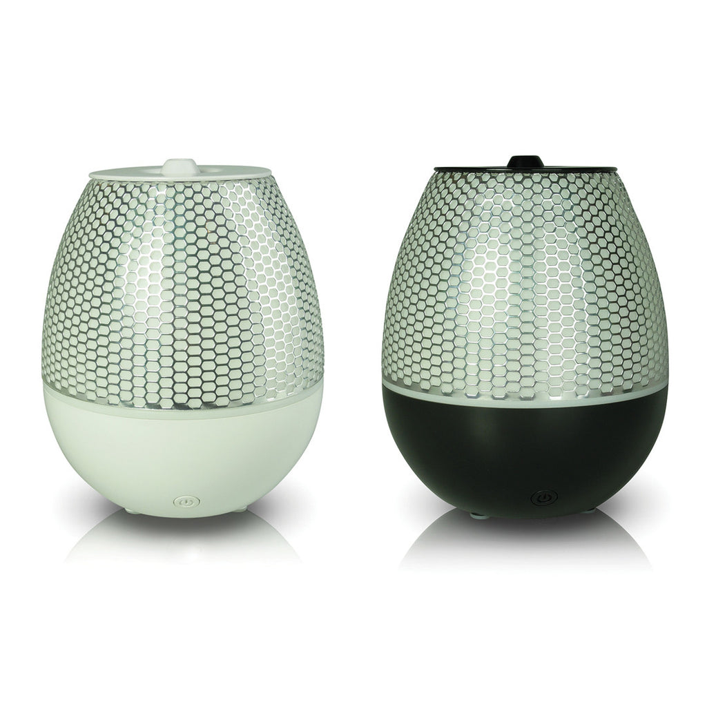 Maya - Ultrasonic Aromatherapy Diffuser w/ LED changing lights. Modern & Silent - AllOilEverything