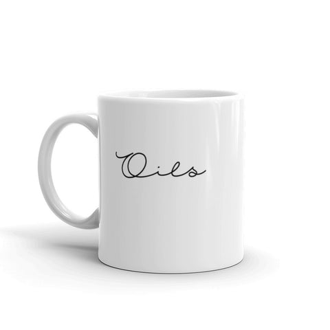 Oils Mug | Coffee Addict |  Essential Oil Mug