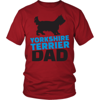 Yorkie Dad T-Shirt - Nvr2Lte2Shop.com