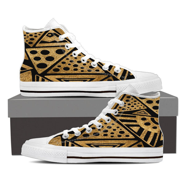 Africa High Top Canvas Shoes - Nvr2Lte2Shop.com