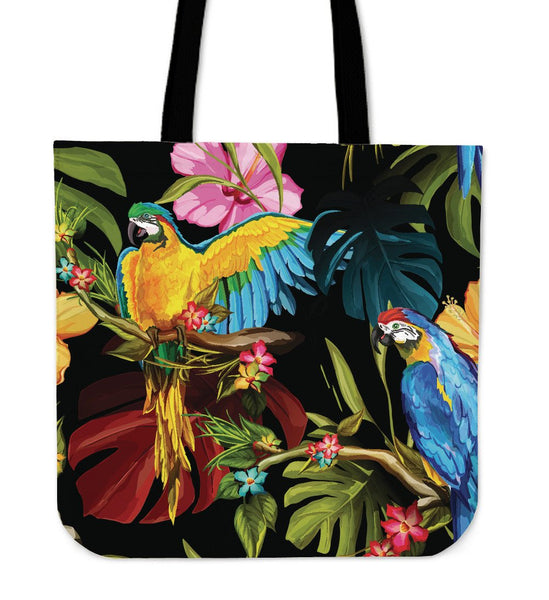 Parrot Tote Bag - Nvr2Lte2Shop.com