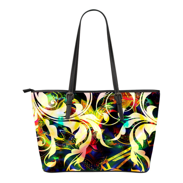 Filigree Small Leather Tote - Nvr2Lte2Shop.com