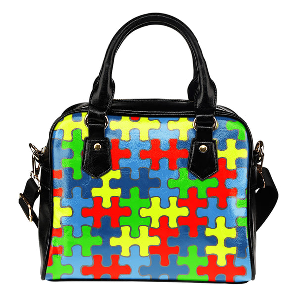 Autism Awareness Shoulder Handbag - Nvr2Lte2Shop.com