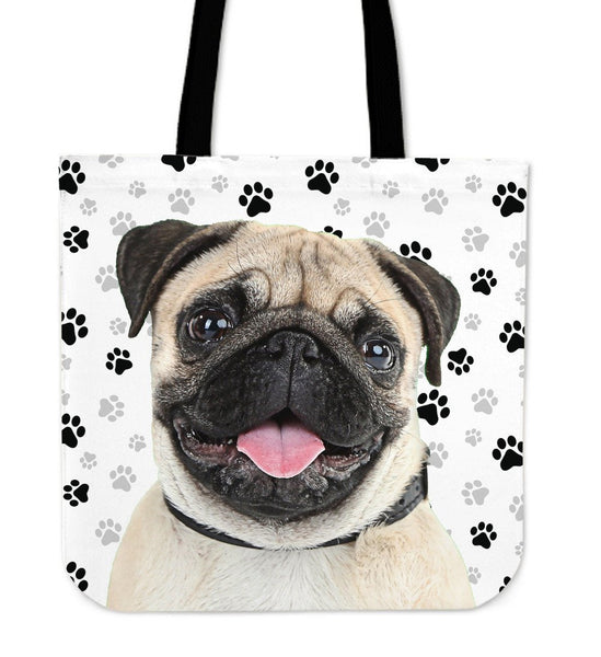 Pug Tote Bag - Nvr2Lte2Shop.com