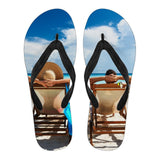 Beach Relaxation Flip Flops - Nvr2Lte2Shop.com