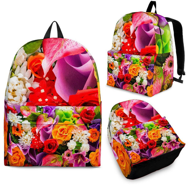 Flowers Backpack - Nvr2Lte2Shop.com