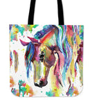 Watercolor Horse Tote Bag - Nvr2Lte2Shop.com