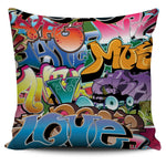 Grafitti Pillow Cover - Nvr2Lte2Shop.com