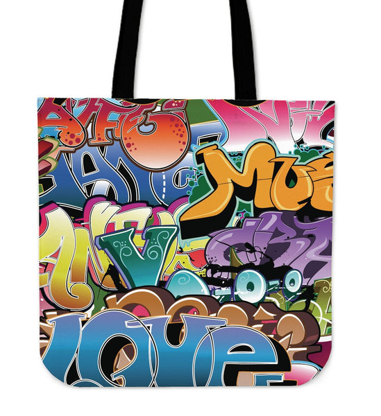Grafitti Tote Bag - Nvr2Lte2Shop.com
