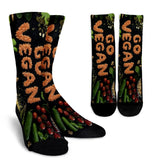 Go Vegan Socks - Nvr2Lte2Shop.com