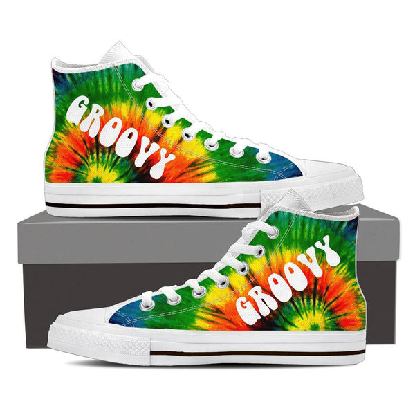 Groovy High Top Canvas Shoes - Women - Nvr2Lte2Shop.com