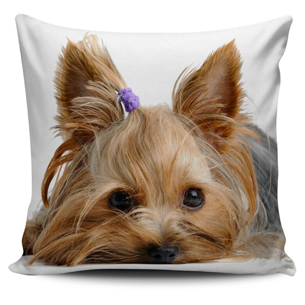 Yorkie Pillow Cover - Nvr2Lte2Shop.com