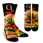 Burger Socks - Nvr2Lte2Shop.com