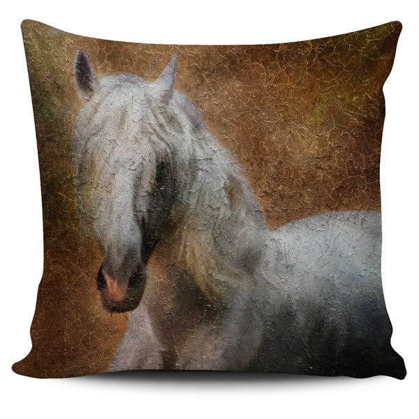 Horse Pillow Cover - Nvr2Lte2Shop.com
